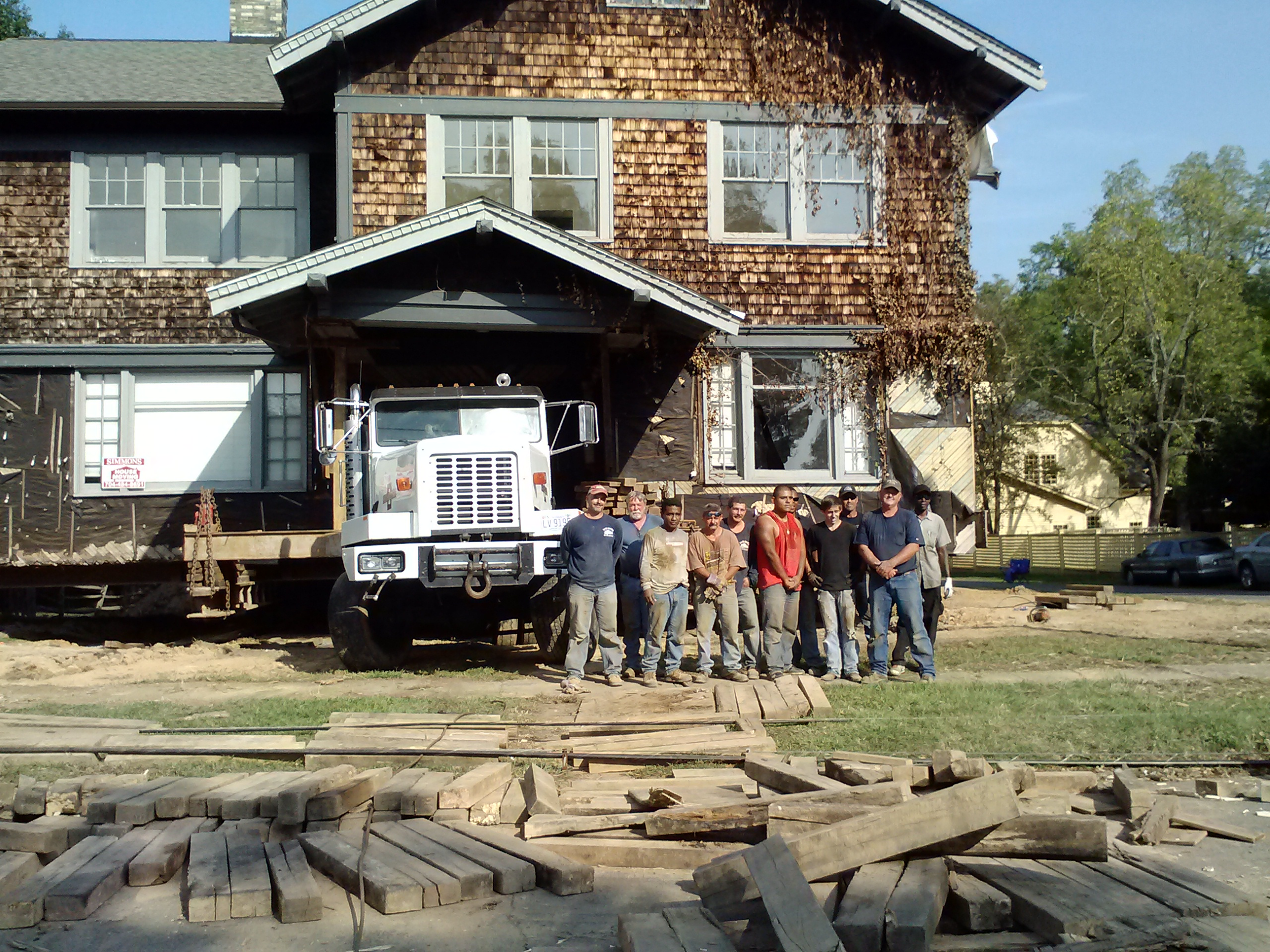 Simmons House Moving, Inc. -  Structural Moving N.C. & S.C. Licensed and Insured