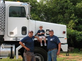Mickey Simmons Sr., Mickey Simmons Jr., and Mason Simmons